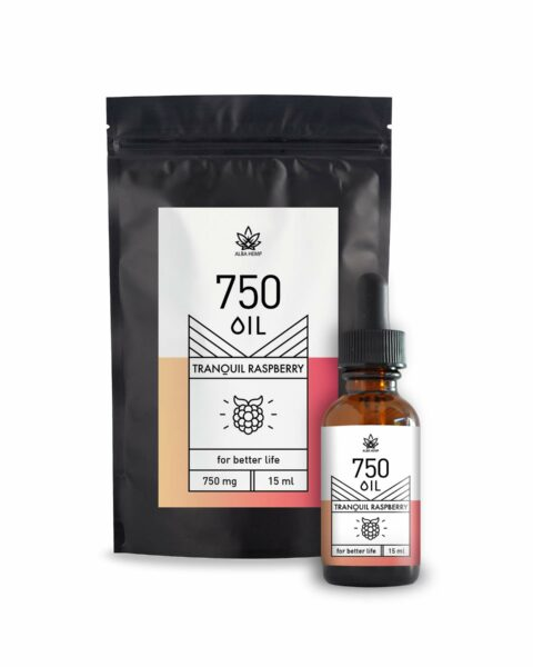 CBD Tranquil Raspberry oil  750mg (5%) 15ml