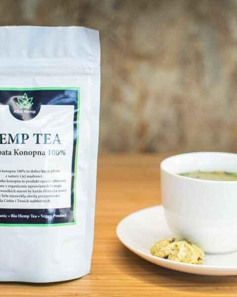 Herbata konopna 100g – Hemp tea 100%