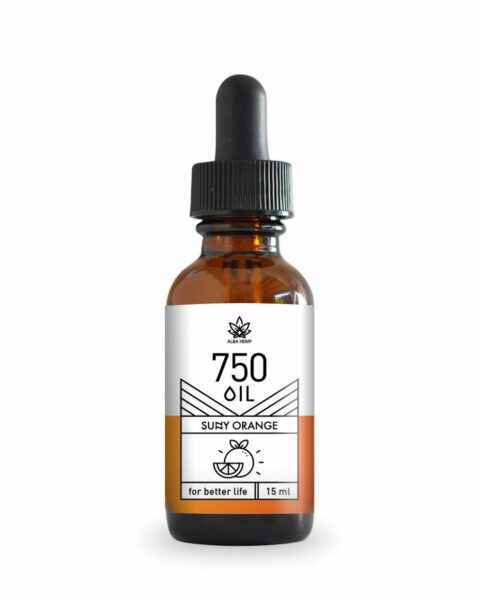 Oil CBD Sensed (Pomarańcza) 750mg (5%) 15ml