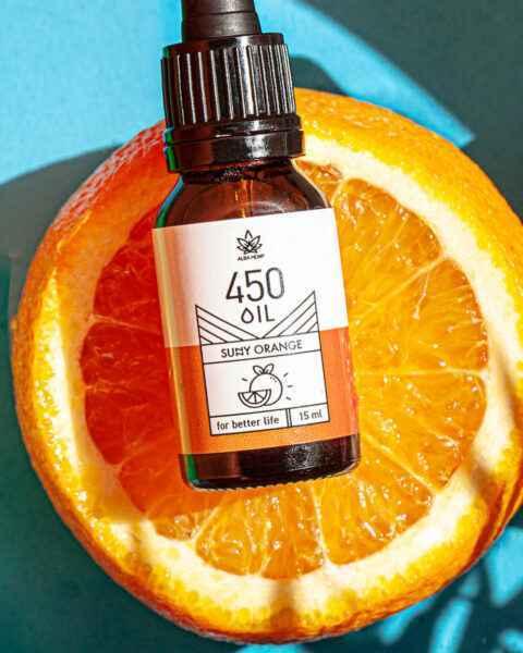 Zestaw olejek pomarańczowy 3% – 15ml + nasiona łuskane ORANGE & SEEDS POWER