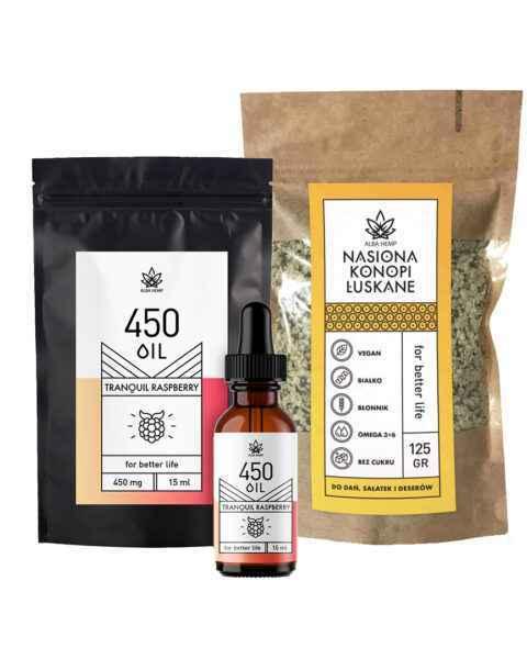 Zestaw olejek malinowy 3% – 15ml +nasiona łuskane RASPBERRY & SEEDS POWER