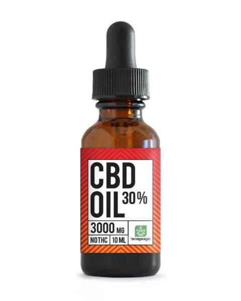 Olejek konopny 3000 mg / 10ml – Hempago